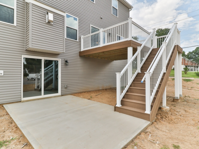 Rear Patio and Deck
